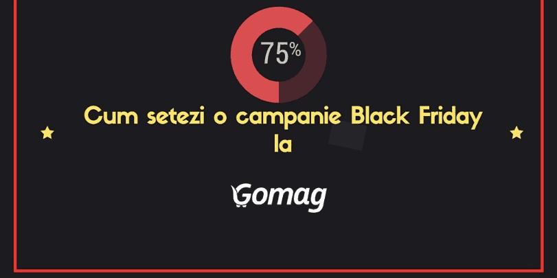 Cum setezi o campanie Black Friday la Gomag