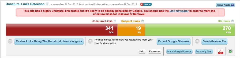 monitorizare linkuri