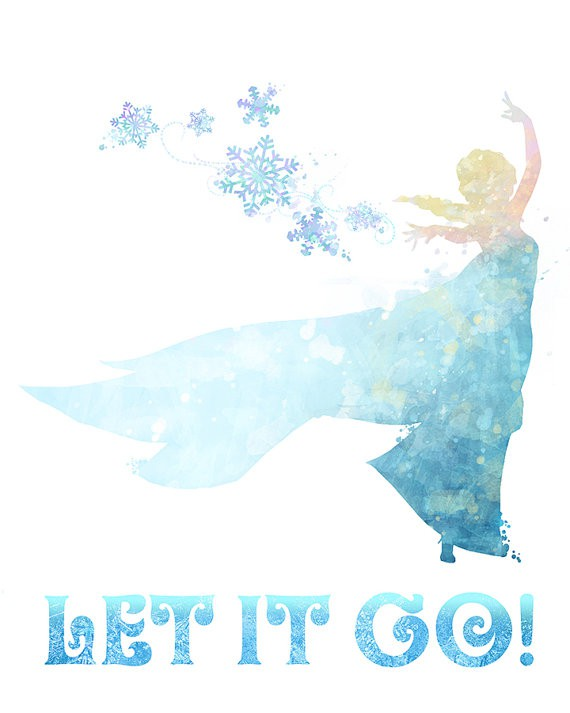 poster let it go