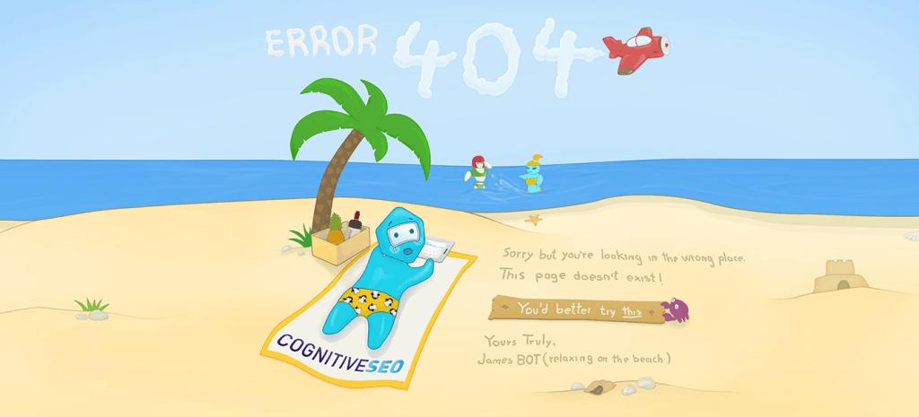 eroare 404 cognitiveSEO