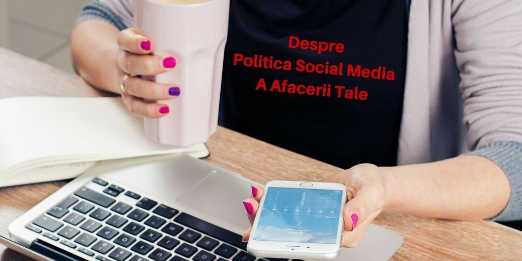 policita social media