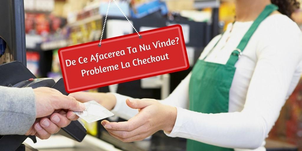 probleme checkout