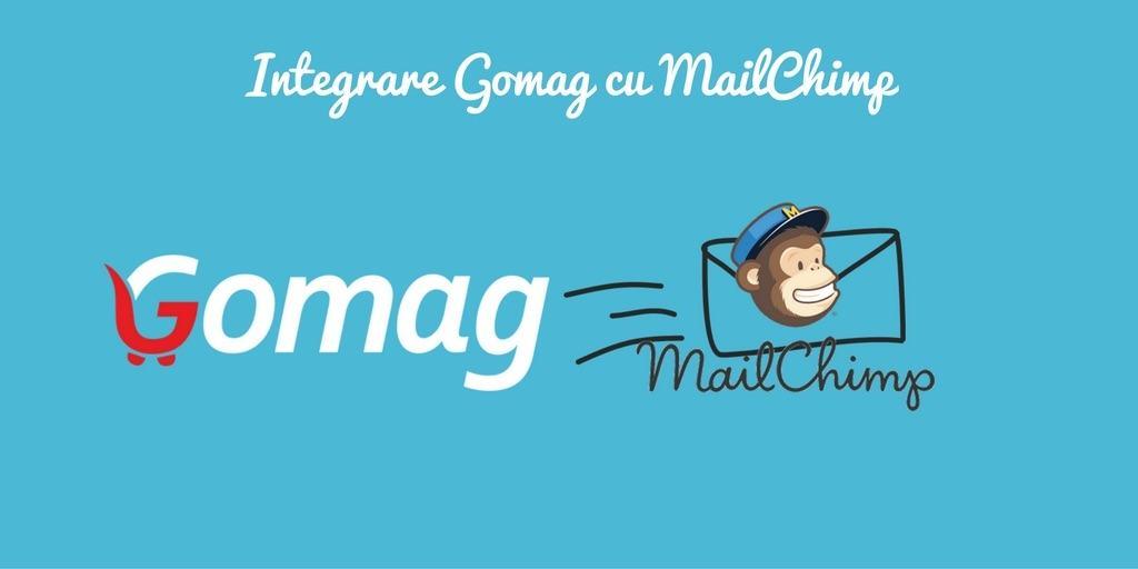 integrare mailchimp gomag