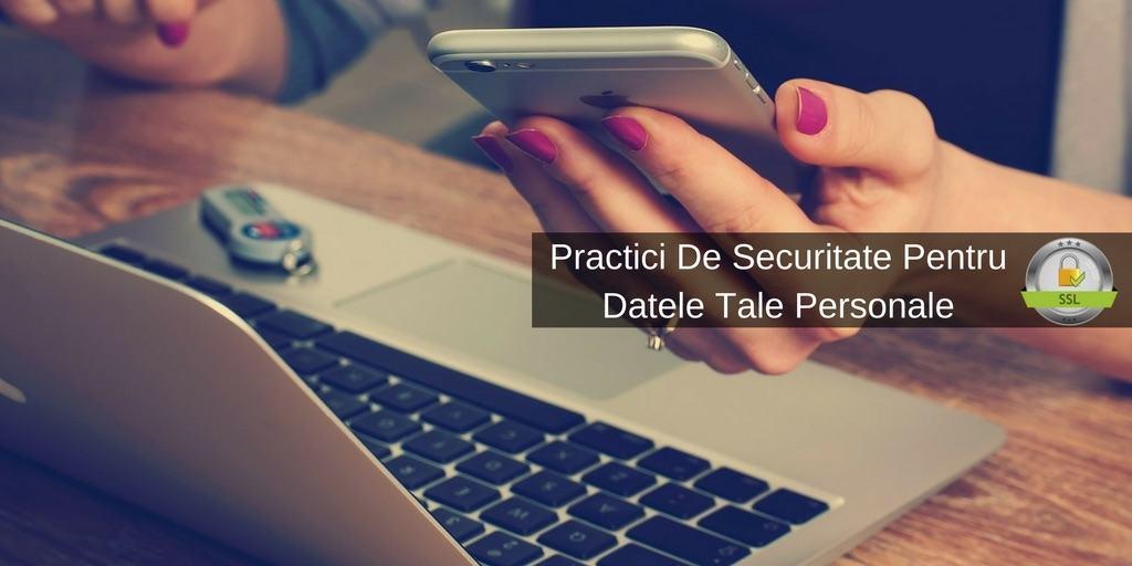 securitate date personale