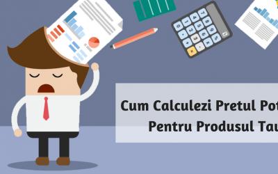 Cum Calculezi Pretul Potrivit Pentru Produsul Tau