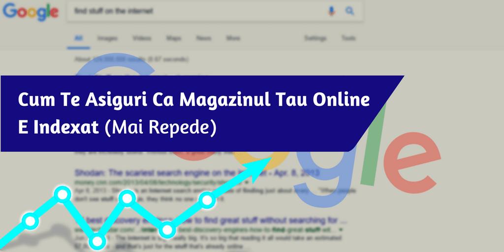 Cum Te Asiguri Ca Magazinul Tau Online E Indexat (Mai Repede)
