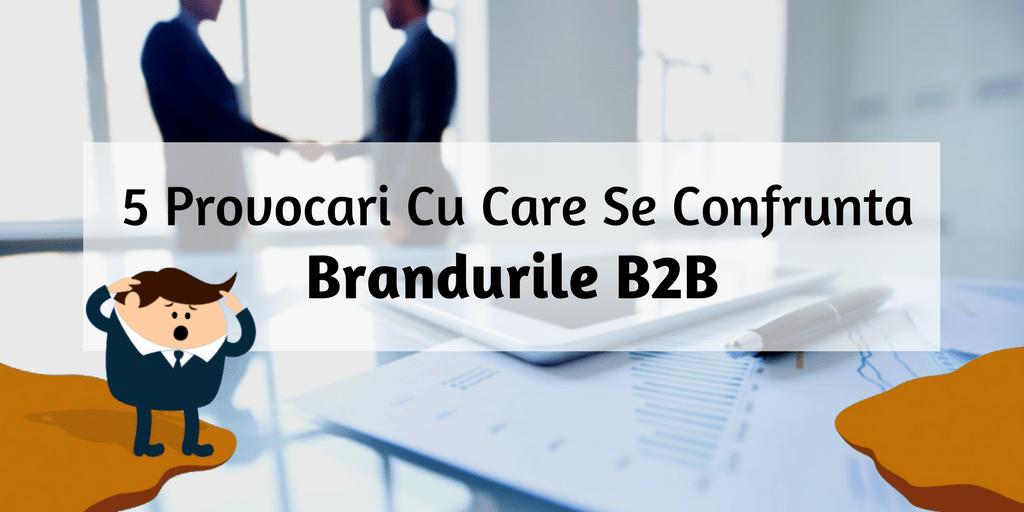 5 Provocari Cu Care Se Confrunta Brandurile B2B