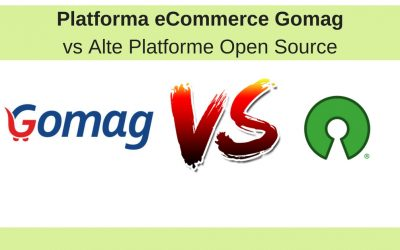 Platforma eCommerce Gomag vs Alte Platforme Open Source