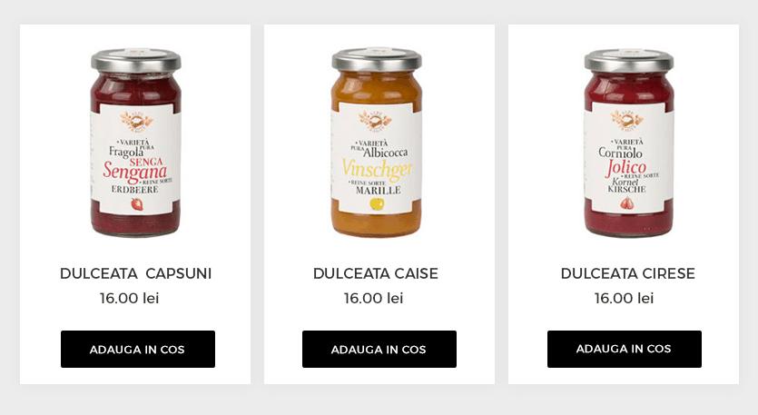 carusel produse gomag
