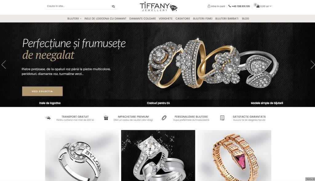 tema design magazin bijuterii