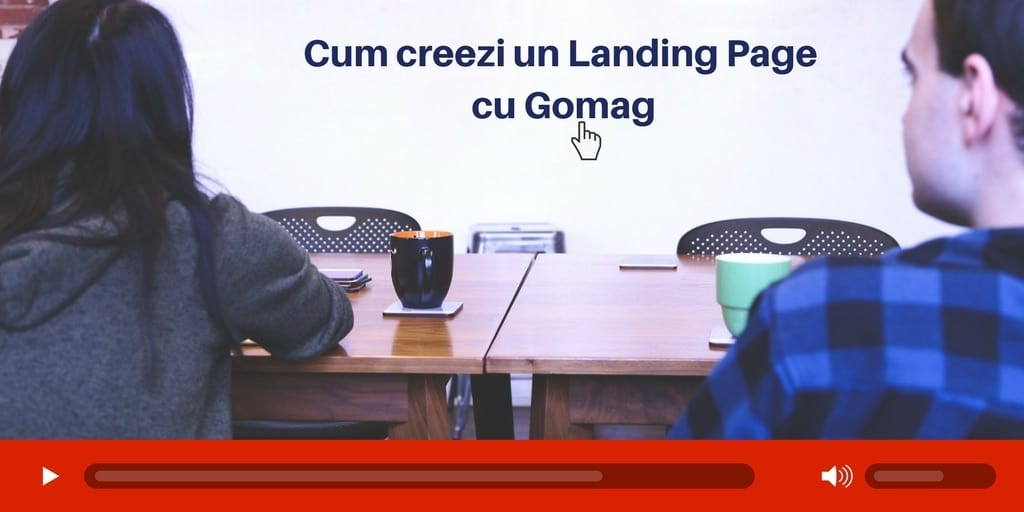 landing page gomag