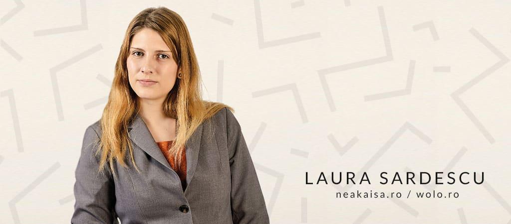 De vorba cu Laura Sardescu de la NeaKaisa.ro si Wolo.ro