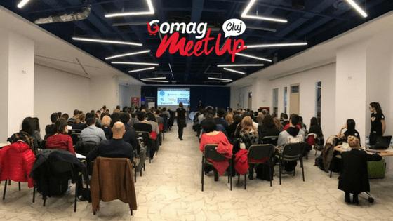 Gomag MeetUp Cluj: 157 de multumiri participantilor