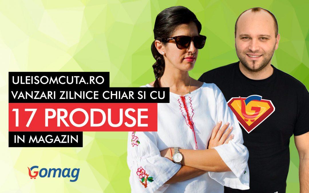 UleiSomcuta.ro are comenzi zilnice chiar si cu 17 de produse in magazin [Studiu de caz]