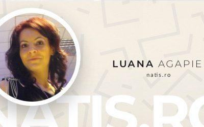 De Vorba Cu Luana Agapie de la Natis.ro #AntreprenoriatLaFeminin