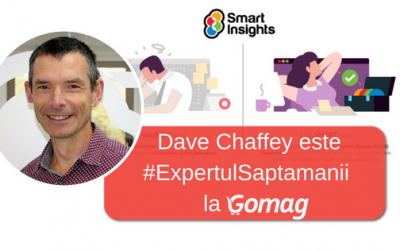 Dave Chaffey este #ExpertulSaptamanii la Gomag