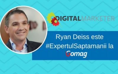 Ryan Deiss este #ExpertulSaptamanii la Gomag