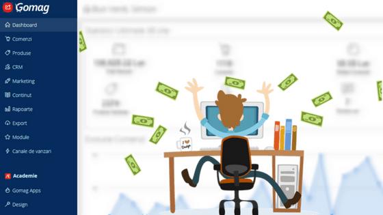 Pop-Up: Noi Instrumente de Marketing in Platforma Gomag