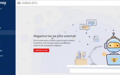 GoBot – Magazinul tau pe pilot automat la Gomag