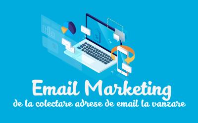 Email Marketing de la Colectare Adrese de Email la Vanzare