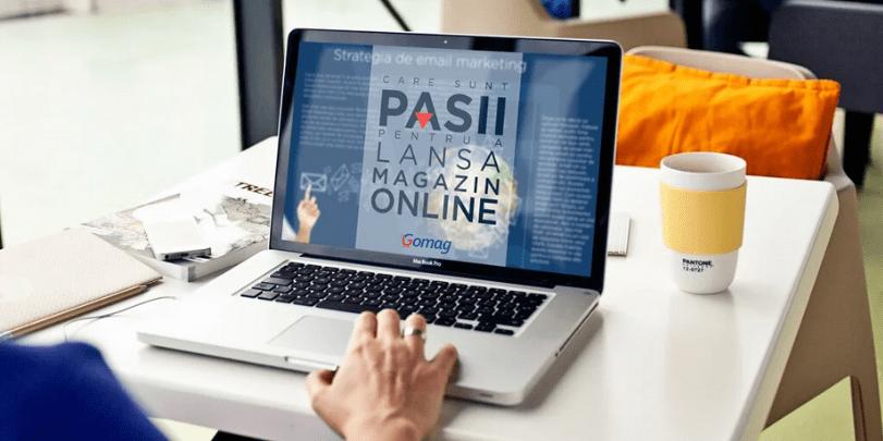 Care sunt pasii pentru a lansa un magazin online