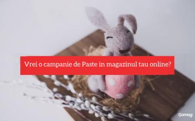Vrei o campanie de Paste in magazinul tau online?