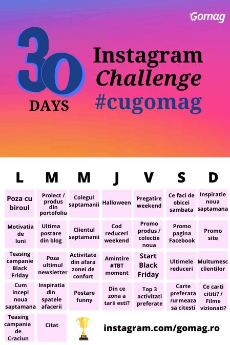 challenge-instagram-gomag