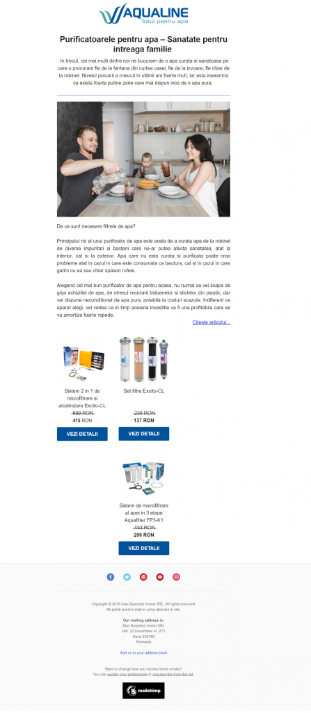 promovare-produs-newsletter