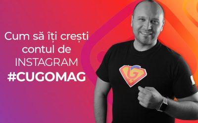 Cum sa iti cresti contul de Instagram cu Gomag