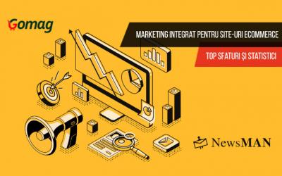 Marketing integrat pentru site-urile eCommerce. Top sfaturi și statistici.