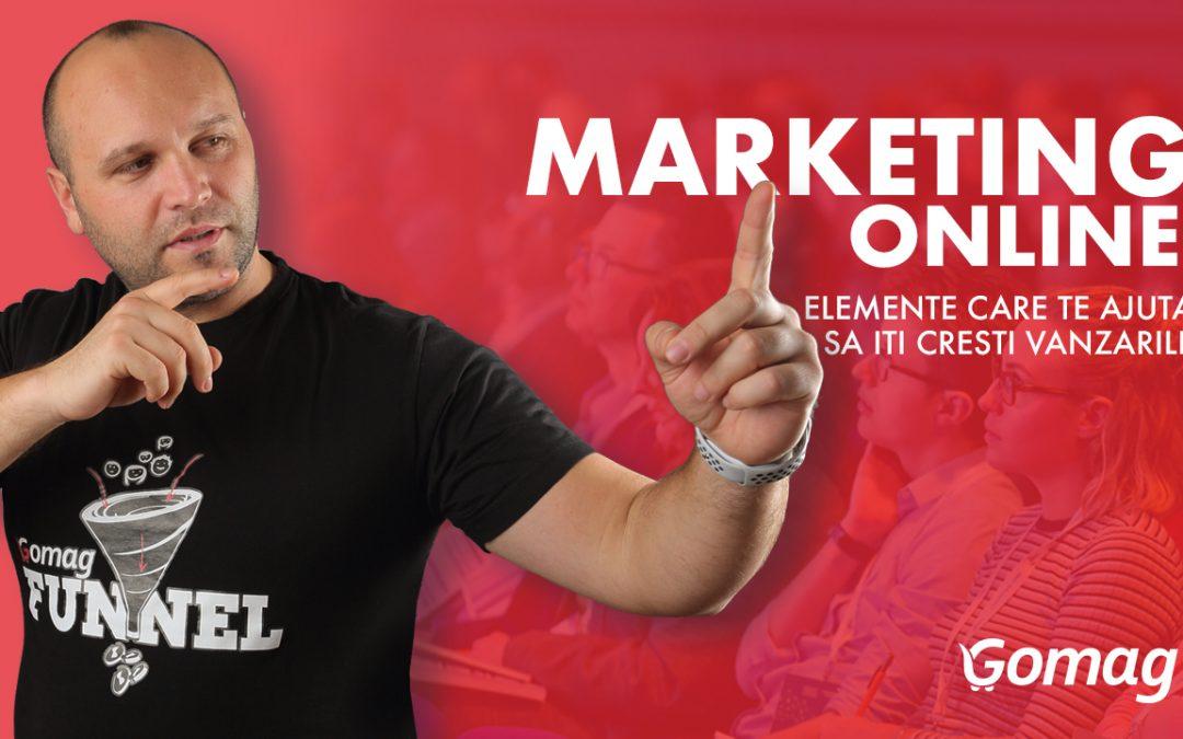 Marketing Online – Elemente Care Te Ajuta Sa Iti Cresti Vanzarile [Video]