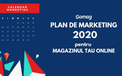 Plan de marketing 2020 – Calendar pentru magazinul tau online