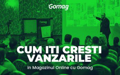 Cum iti Cresti Vanzarile in Magazinul Online cu Gomag [Video]