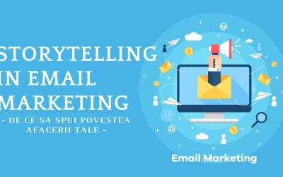 Storytelling in Email Marketing – De ce sa spui povestea afacerii tale