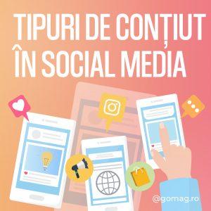 Tipuri de continut in Social Media