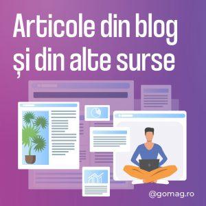 postari blog