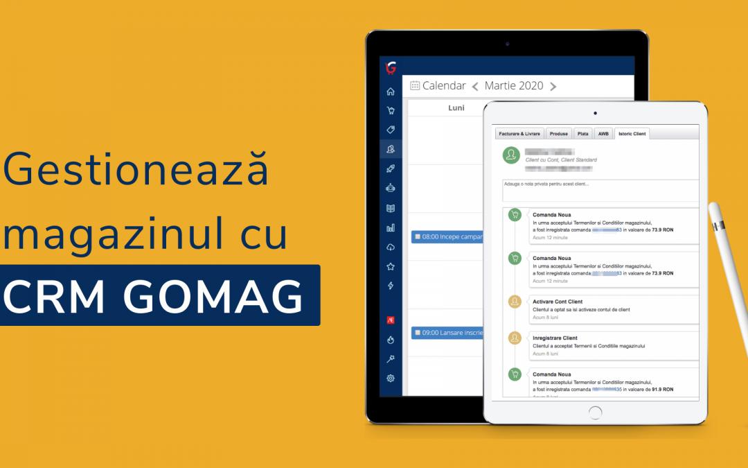 Cum folosesti CRM Gomag - Gestioneaza eficient task-urile & clientii