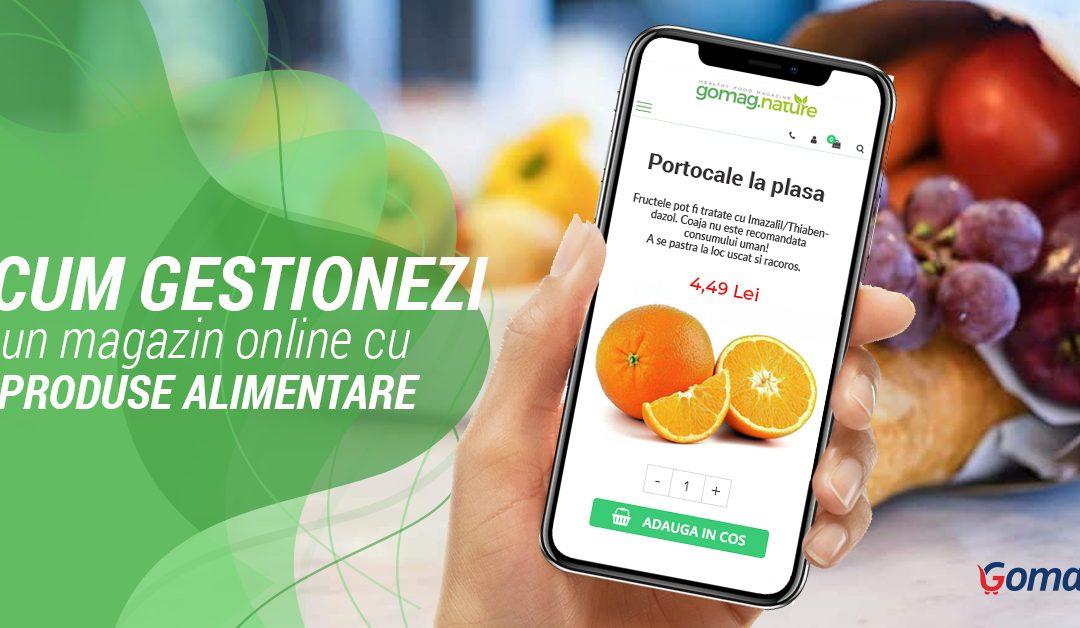 Cum gestionezi un magazin online cu produse alimentare