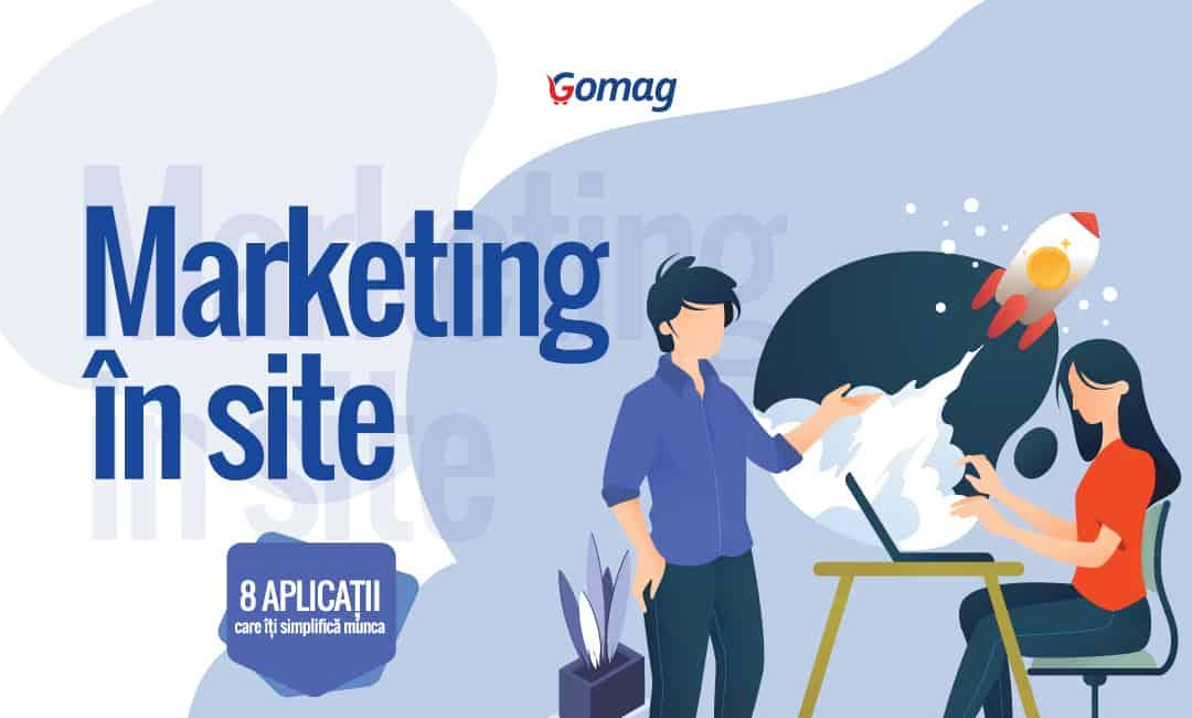 Marketing in site - 8 Aplicatii care iti simplifica munca [Infografic]