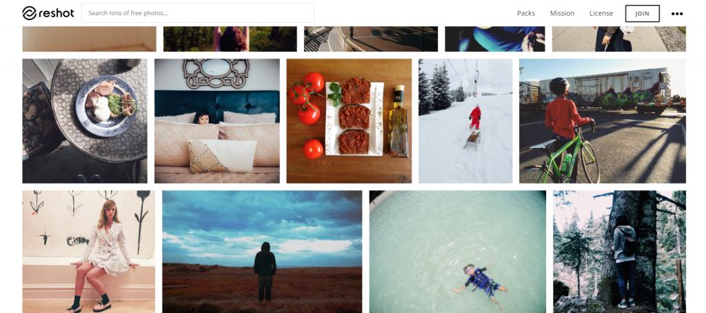 reshot-site-fotografii