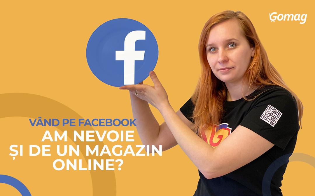 """""""Vand pe Facebook, am nevoie si de un magazin online?"""" - De ce sa ai domeniul tau"""