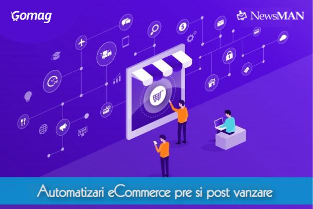Gomag – NewsMAN, automatizari eCommerce pre si post vanzare