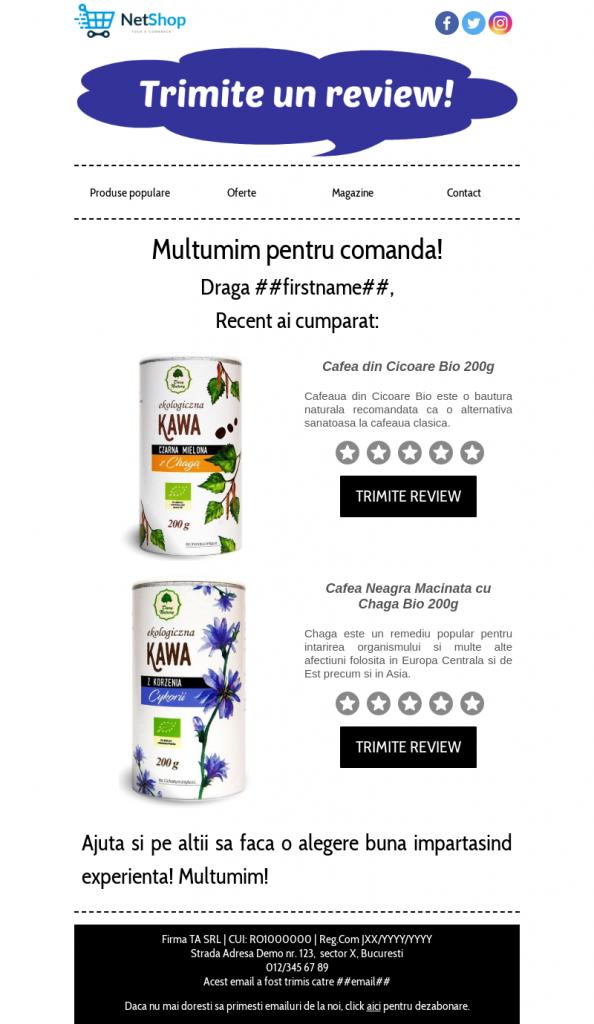 email-automat-review-produs-cumparat