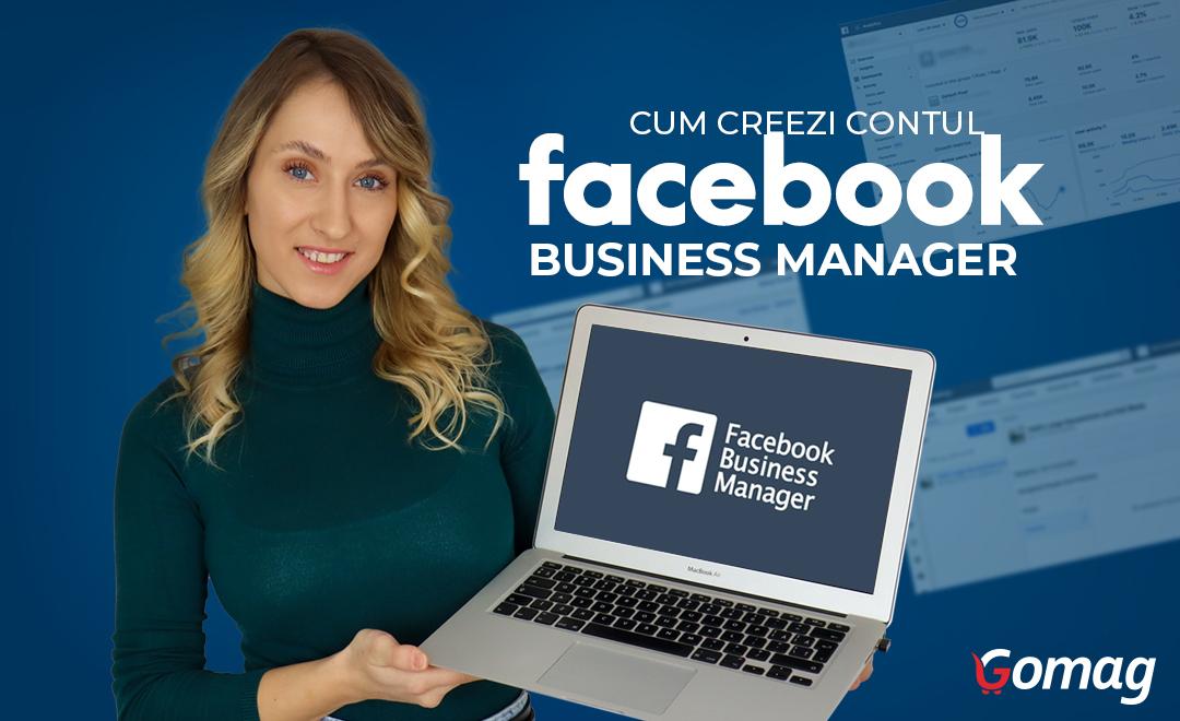 Cum creezi contul de Facebook Business Manager pentru magazin online [2021]