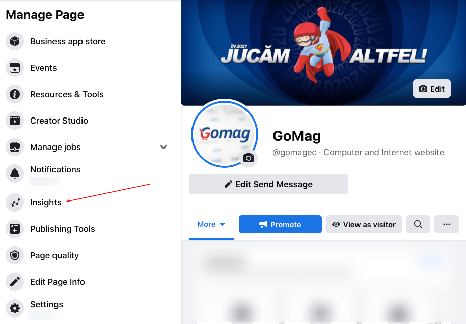 insights-facebook-gomag