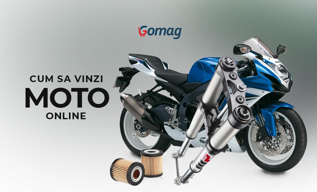 Cum sa vinzi moto online - Idei de promovare magazin cu piese moto