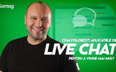 Cum folosesti aplicatiile de live chat pentru a genera mai multe vanzari [Podcast]