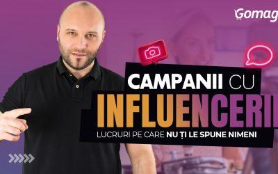 Campanii cu influenceri – Lucruri pe care nu ti le spune nimeni [Podcast]