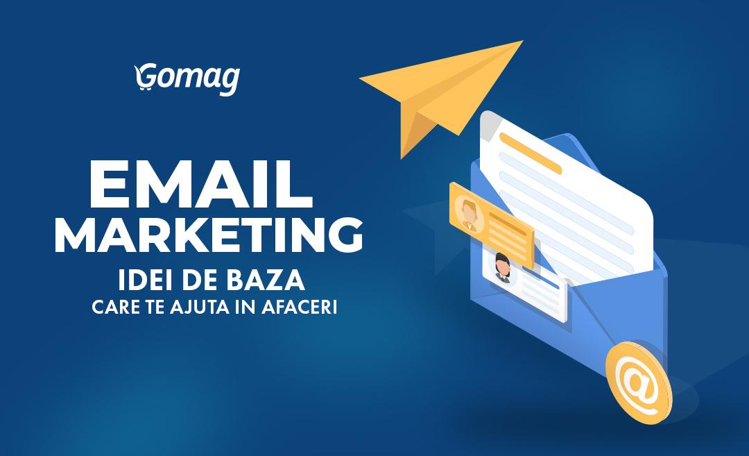 Email Marketing – informatiile de baza care te ajuta in afaceri [Podcast]