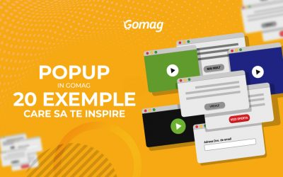 Pop-up in magazinul tau online: Ghid cu 20 de exemple care sa te inspire